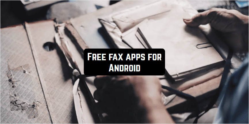 free fax apps for android