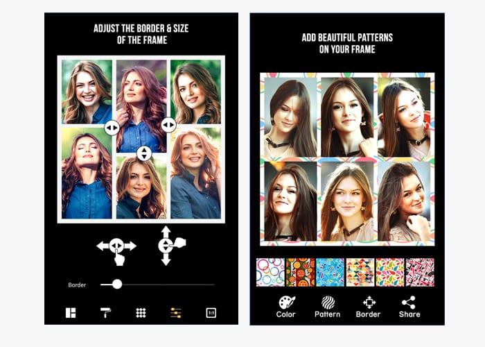 instant pic frames app