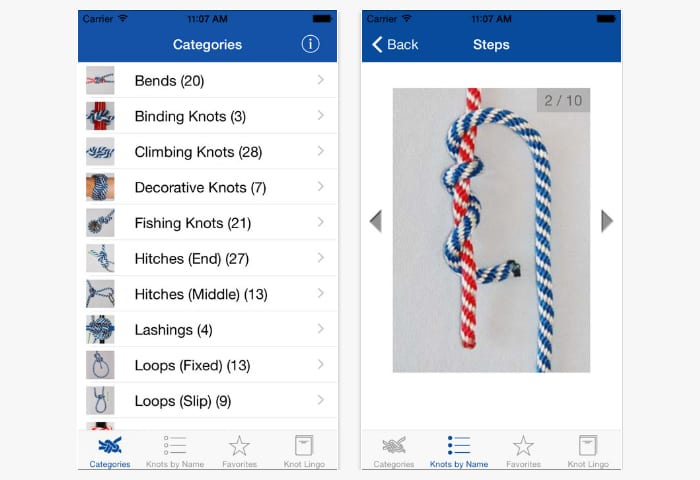 knot guide app