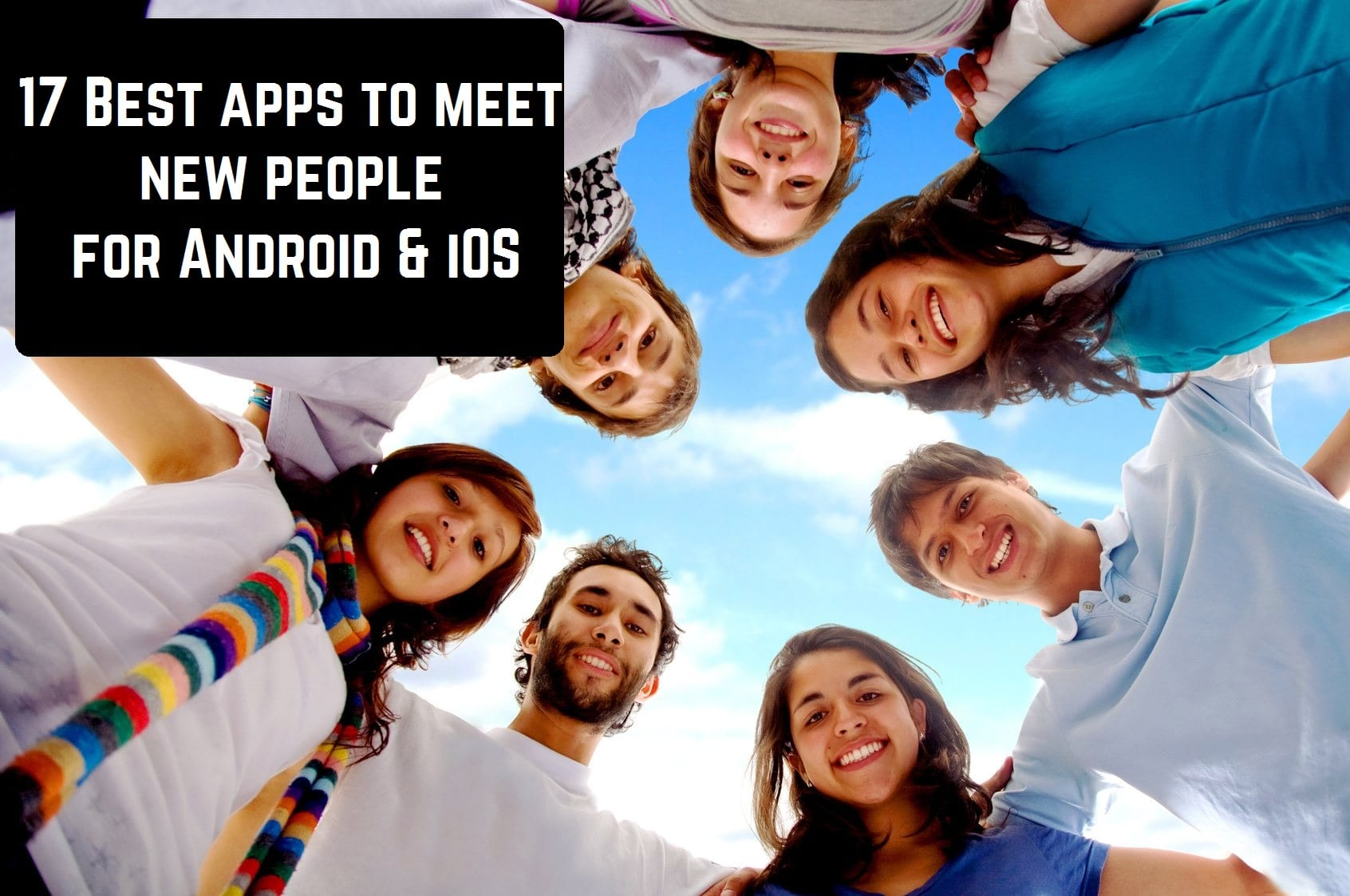 Best apps to meet ppl