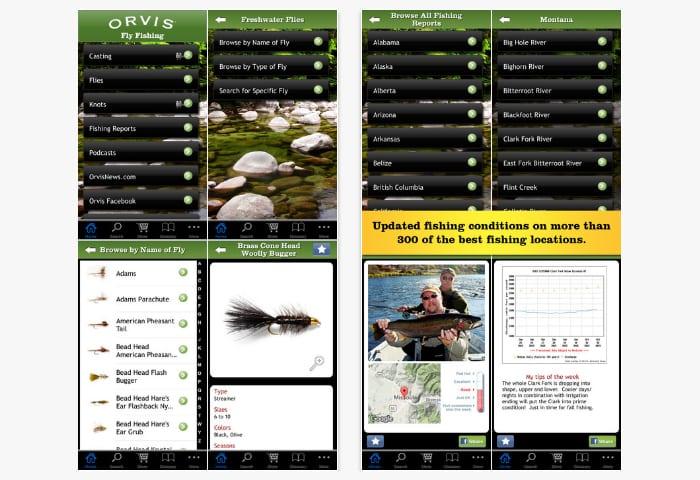 orvis fishing app