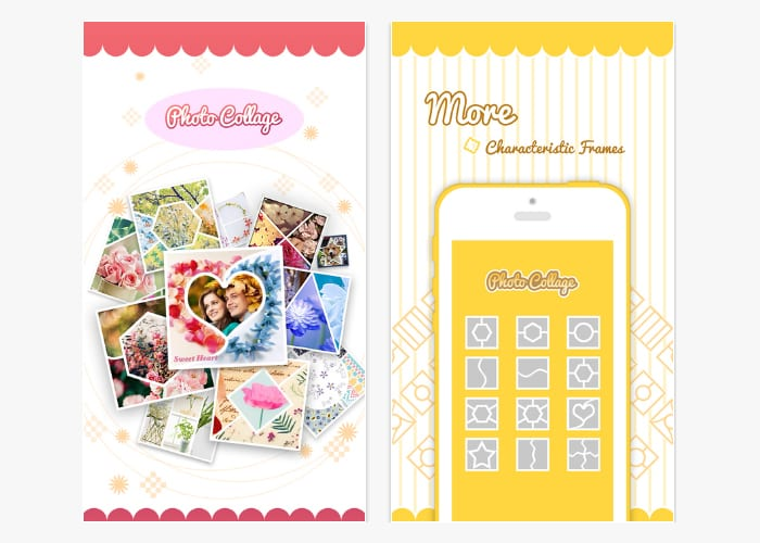 pic frame grid app