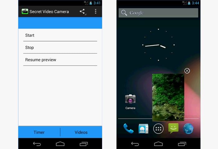 secret video camera app