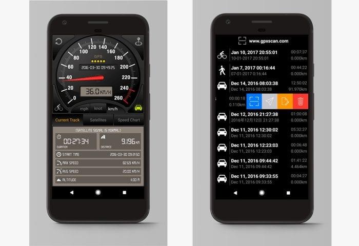 speedometer gps pro app