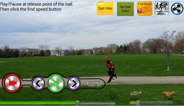 Ball Speed Radar Gun Baseball