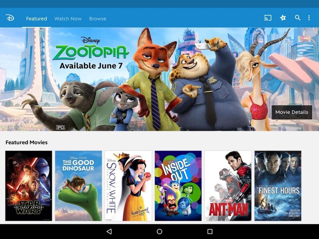 Top 11 Apps To Watch Disney Channel Free Apps For Android Ios
