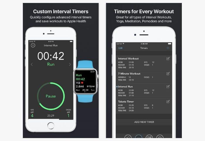 intervals app