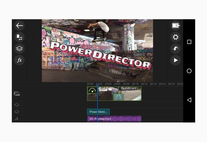 powerdirector movie app