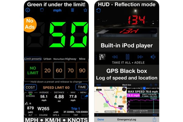 speedometer 55