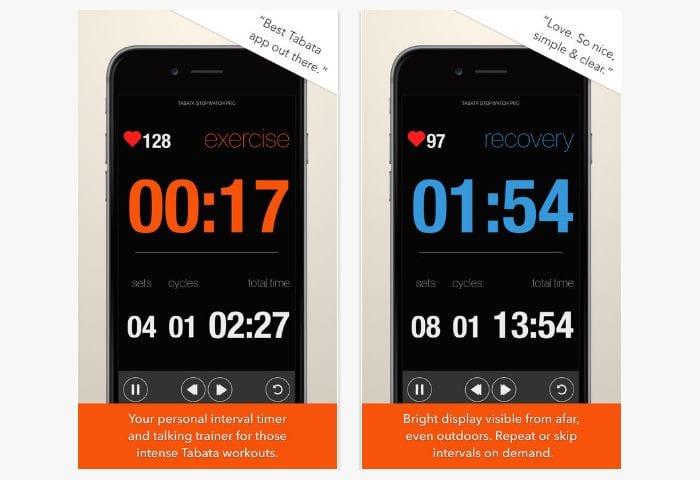 tabata stopwatch pro app