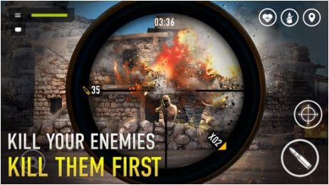 sniper arena app