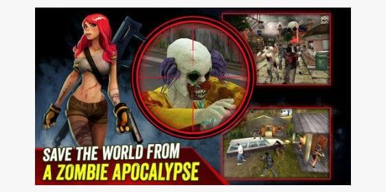 zombie hunter app