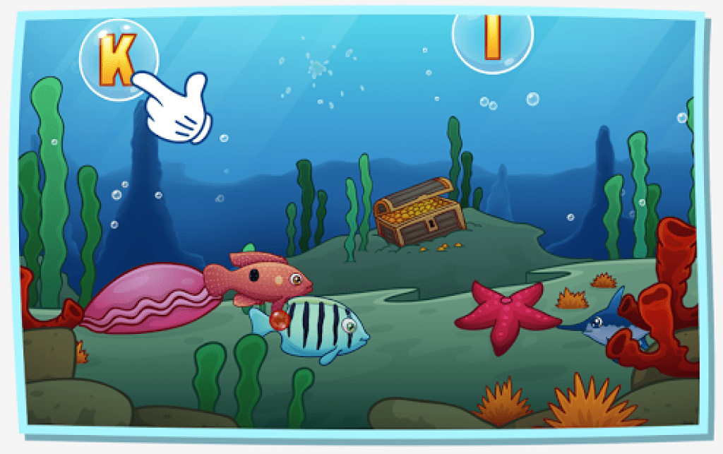 13 free fishing games for kids android ios for Bubble fish game