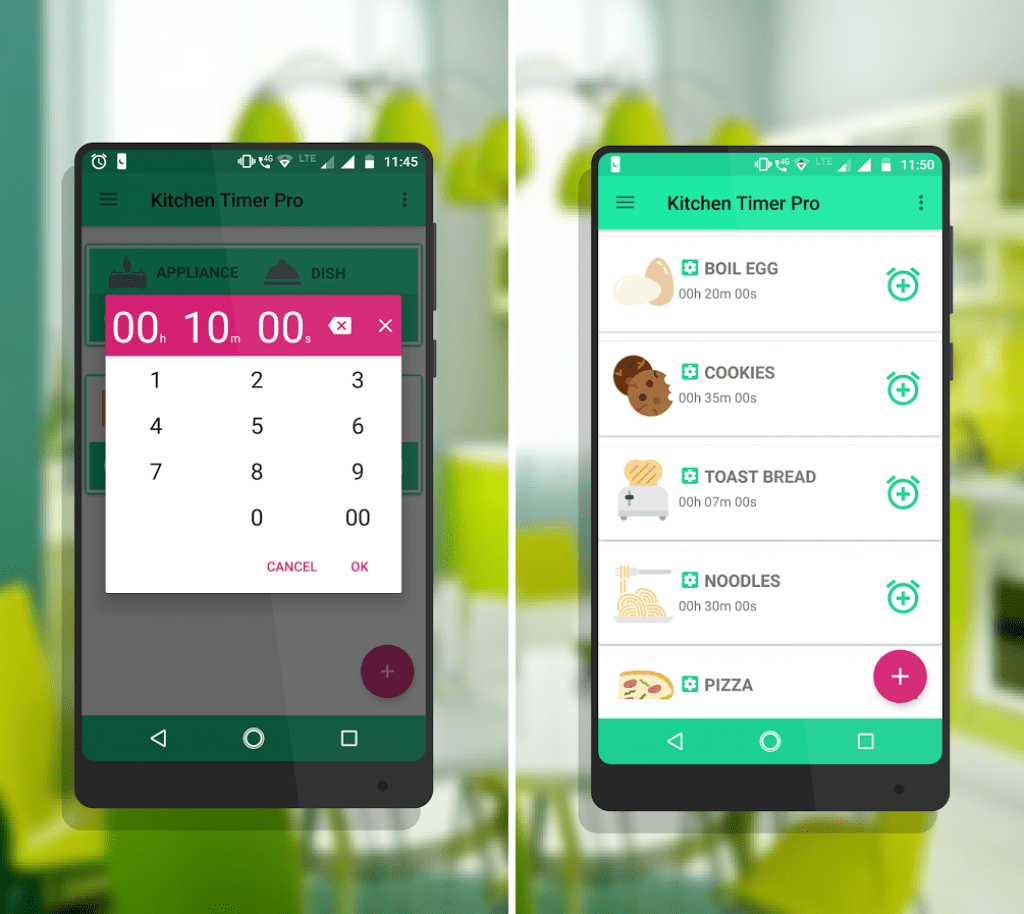 Kitchen Timer Pro app review | Free apps for Android and iOS