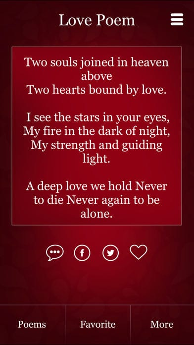 15 Best Love Poems Apps For Android Ios Free Apps For