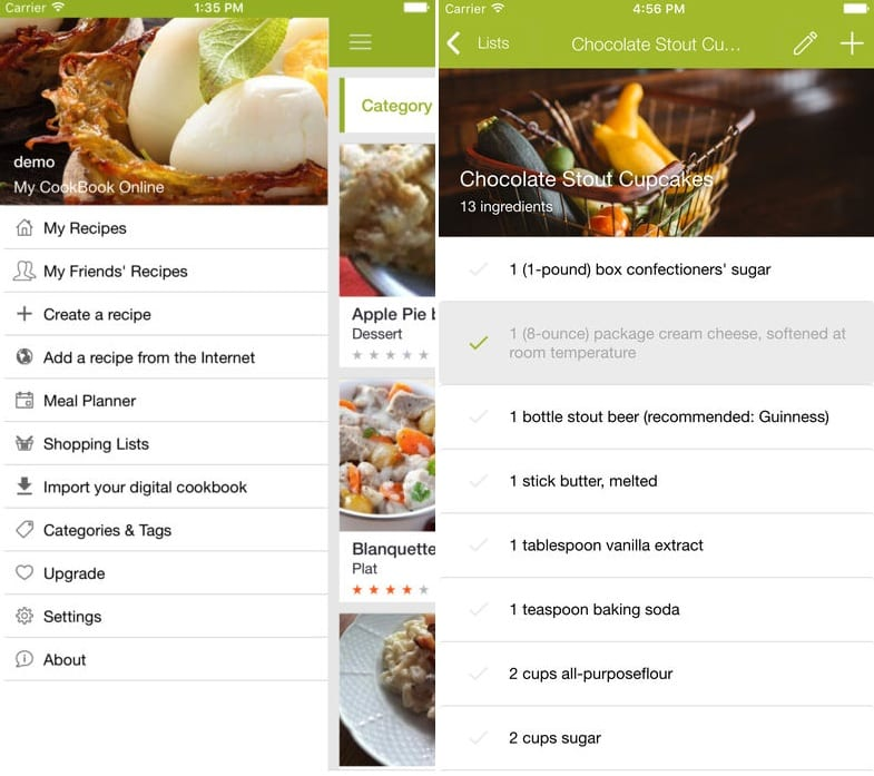 My CookBook app review | Free apps for Android and iOS