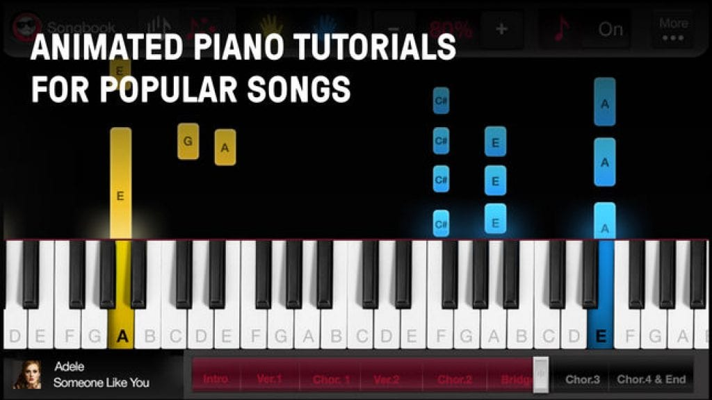 Piano Lessons by OnlinePianist app image
