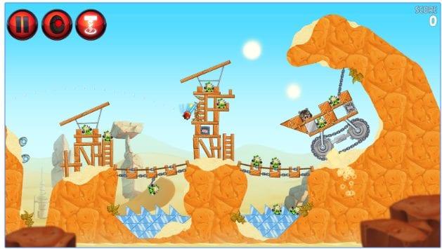 Angry Birds Star Wars II app