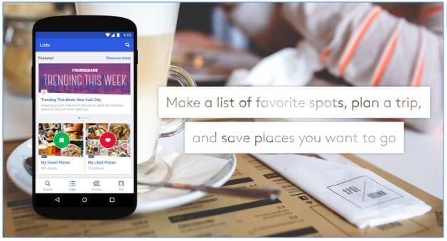 Foursquare City Guide app