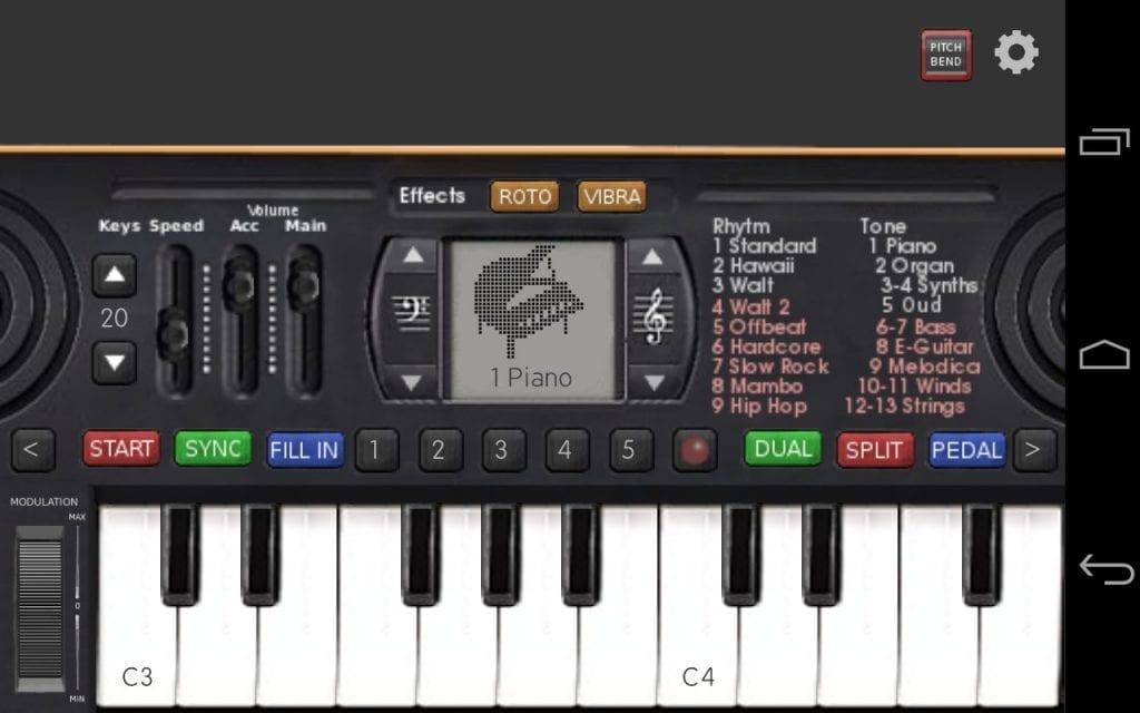 Music Keyboard byPalmsoft Entertainment