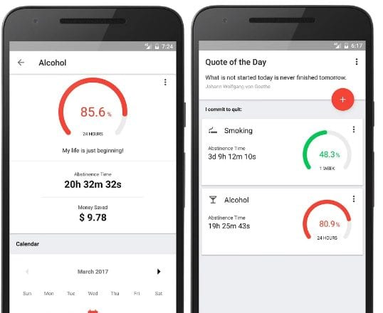 Sobriety Counter – Bad Habits app