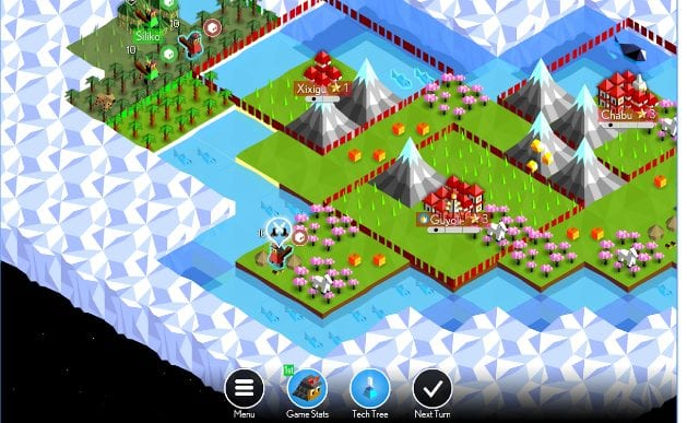 The Battle of Polytopia app