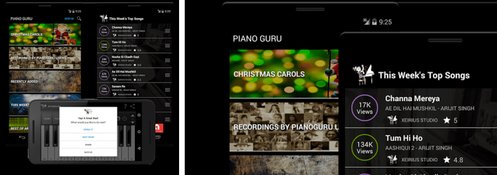 Piano Guru: Learn your favorite song app image