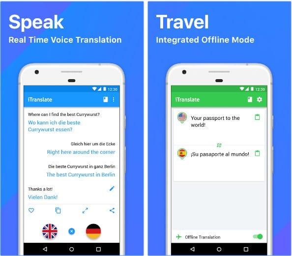 iTranslate Translator & Dictionary app