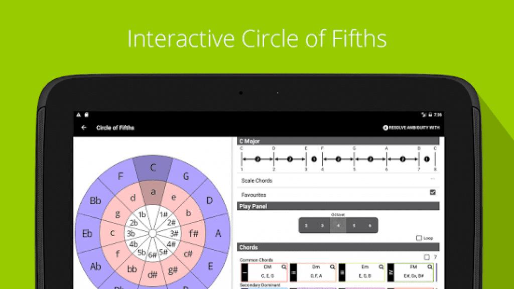 Piano Chord, Scale, Progression Companion app image