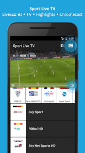 watch football live streaming android app apk