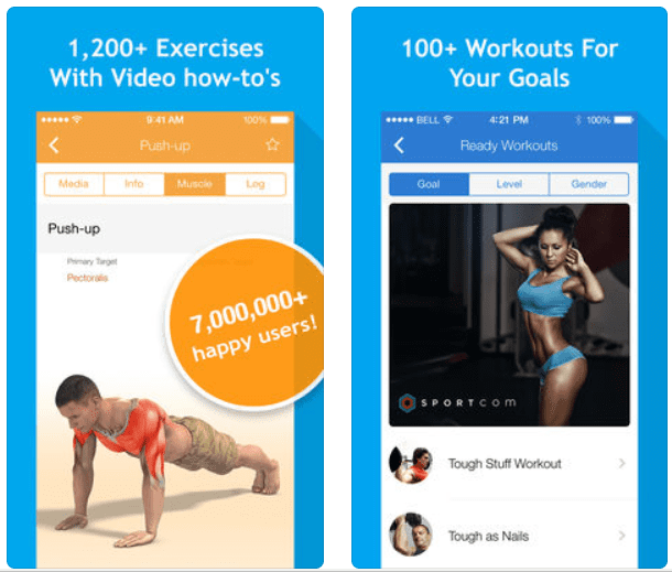 All-in Fitness app