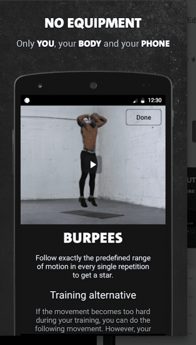 Freeletics Bodyweight 1