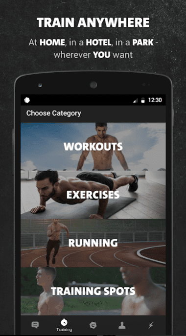 Freeletics Bodyweight app