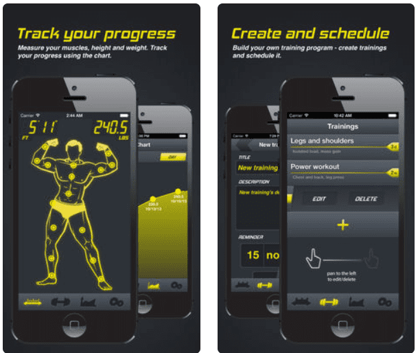 Gym Machine app