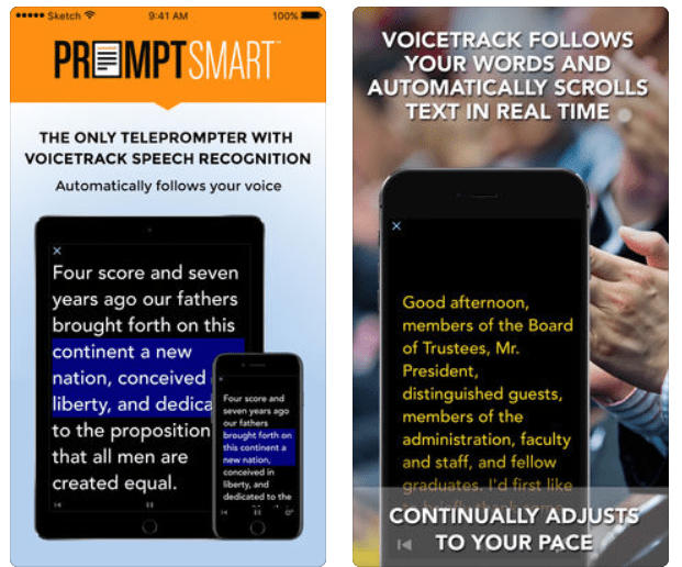 PromptSmart Lite Teleprompter app