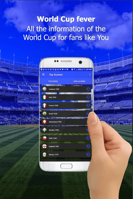 Russia 2018 World Cup app