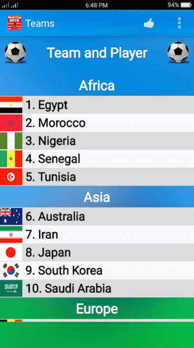World Cup 2018 Schedule 1