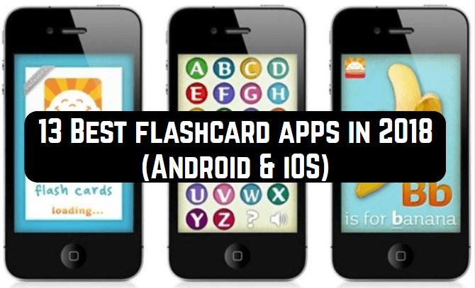 13 Best Flashcard Apps In 2018 Android Ios Free Apps For