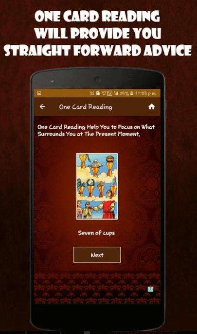 Free Tarot Reading app