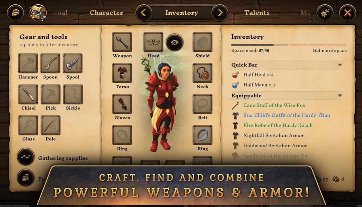Heroes & Villagers app