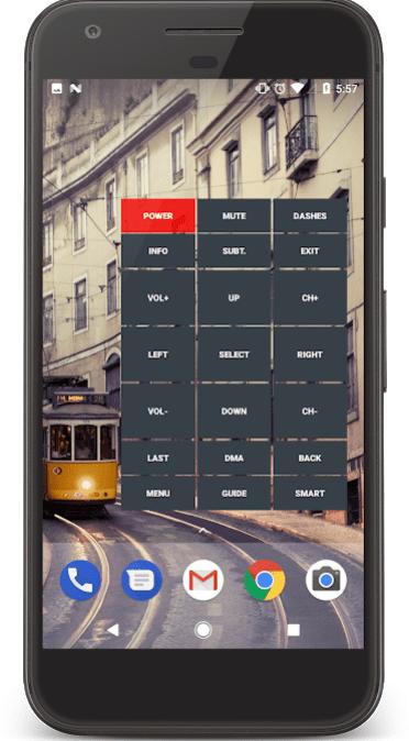 IR Universal TV Remote app