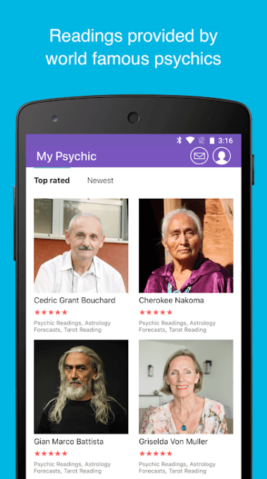 My Psychic Reading app