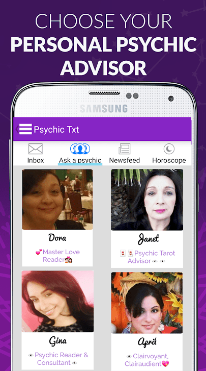 Psychic Txt & Daily Horoscopes