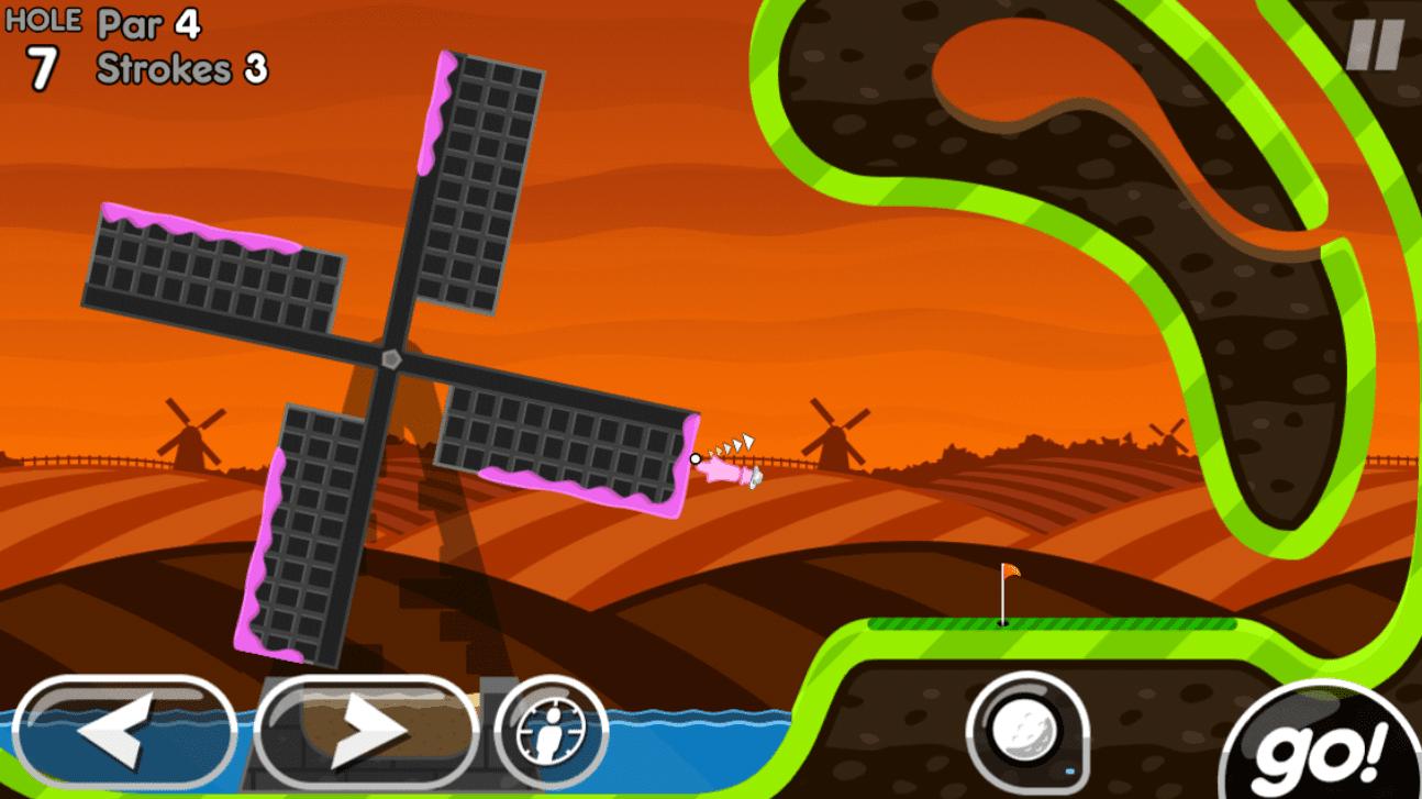 Super Stickman Golf 2 app