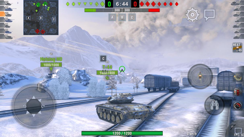 World of Tanks Blitz app