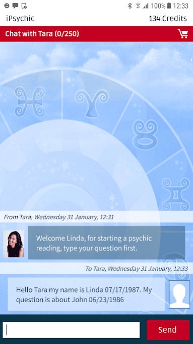 psychic app