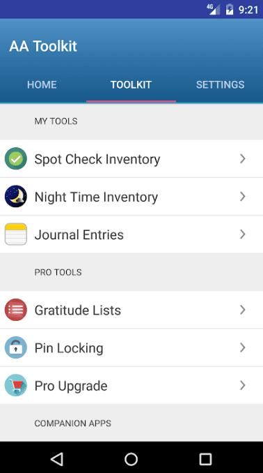 AA 12 Step App 1