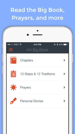 AA Big Book Free app