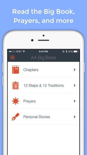 AA Big Book Free app