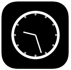 Bedside clock icon